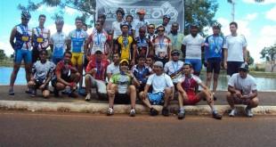 Participantes da primeira etapa da Copa Vera Cruz de Ciclismo