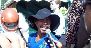 Paulino Doido Paiakan, um dos seres folcóricos de Patos de Minas