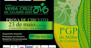 Cartaz 1º GP do Milho de Ciclismo