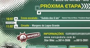 Etapa dupla da Copa Vera Cruz de Ciclismo em Patos de Minas