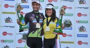 Rubinho e Ju, os grandes campeões da CIMTB 2010
