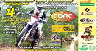Cartaz Enduro do Milho de Motos 2011