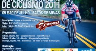 Campeonato Mineiro de Ciclismo em Patos de Minas