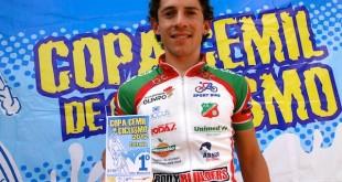 Um dos destaques da prova, Weslen Silva (Janjão)