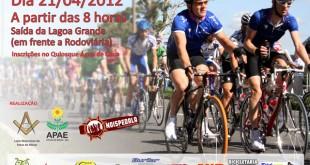 Ajude-nos a divulgar o cartaz do Passeio Ciclístico do Bem